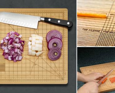 Tábua De Cozinha Ideal Para Perfecionistas Deixa Ingredientes Com Tamanhos Perfeitos 7