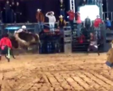 Flash Salva Fotógrafo De Touro Que Invadiu Arena Durante Rodeio 6
