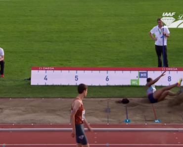 Atleta Nigeriana Perde a Peruca Durante o Salto Em Comprimento 6