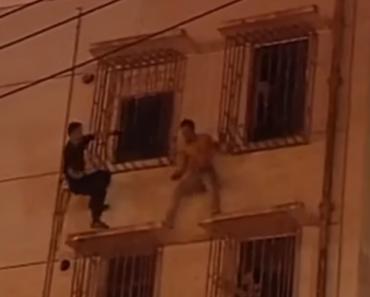 Polícia Corajoso Impede Suicídio 3