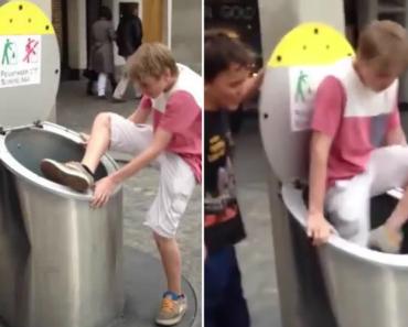 Criança Coloca-se Dentro De Caixote Do Lixo Por Brincadeira e é Engolida Por Conduta Subterrânea 6
