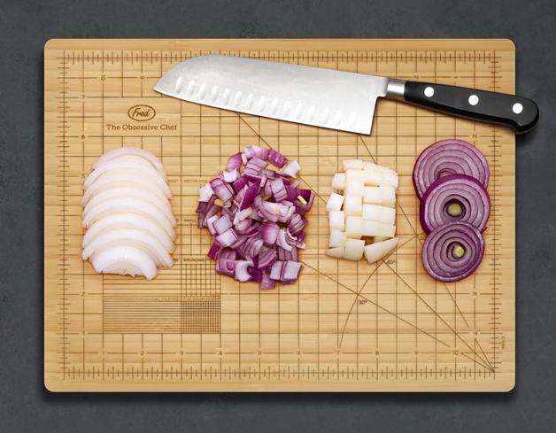Tábua De Cozinha Ideal Para Perfecionistas Deixa Ingredientes Com Tamanhos Perfeitos 1