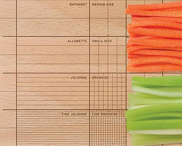 Tábua De Cozinha Ideal Para Perfecionistas Deixa Ingredientes Com Tamanhos Perfeitos 4