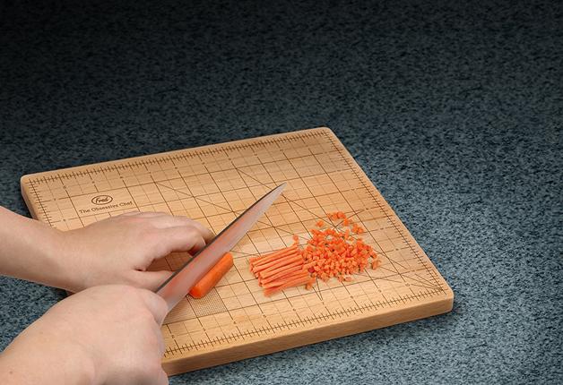 Tábua De Cozinha Ideal Para Perfecionistas Deixa Ingredientes Com Tamanhos Perfeitos 6