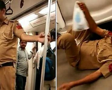 Polícia Sofre Ataque Cardíaco No Metro e Passageiros Pensavam Que Ele Estava Bêbado 5