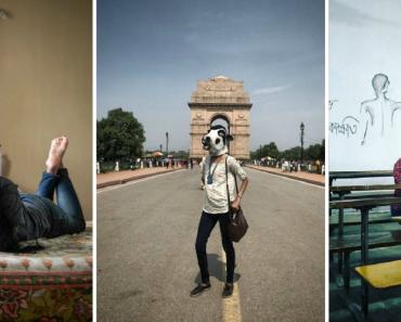 Mulheres Indianas Usam Máscaras De Vaca Como Forma De Protesto 6