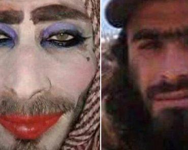 Membro Do Daesh Disfarça-se De Mulher Para Fugir... Mas é Traído Pelo Excesso De Maquilhagem! 4