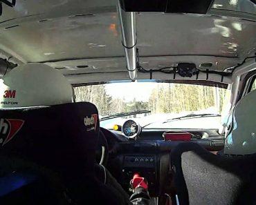 Piloto De Rally Sofre Acidente Tenso... Mas Segue Viagem Como Se Nada Tivesse Acontecido! 4
