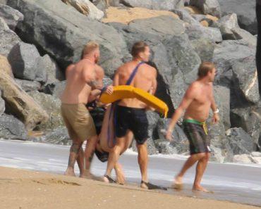 Casal é Resgatado Por Nadadores Salvadores Depois De Tentarem Fazer Jet-Ski No Mar Revolto 2