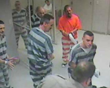 Prisioneiros Escapam Da Cela Para Salvar a Vida De Um Guarda Prisional 5