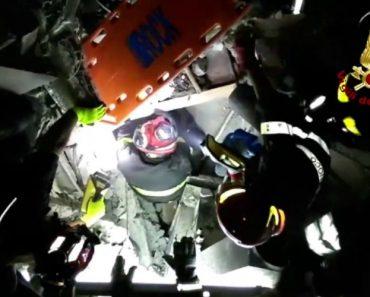 Bombeiros Resgatam Bebé De Sete Meses Dos Escombros Em Ischia 2