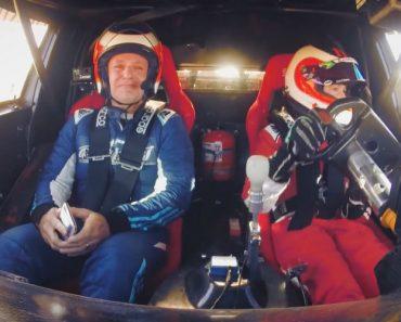 Rubens Barrichello Chora Com o Filho Ao Volante Do Seu Carro De Corrida 9
