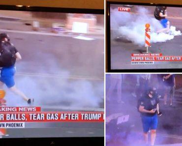 Manifestante Arrepende-se Amargamente Após Lançar Gás Lacrimogéneo Sobre a Polícia 7