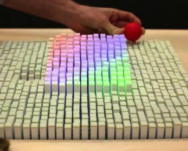 Mesa Interativa Copia Objetos 3D Em Tempo Real 1