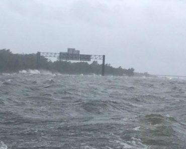 """Vídeo Mostra Auto-Estrada No Texas Transformada Em """"Mar"""" Depois Do Furacão 4"""