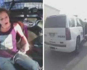 Mulher é Presa Mas Consegue Tirar Algemas e Fugir Com o Carro Da Polícia 6