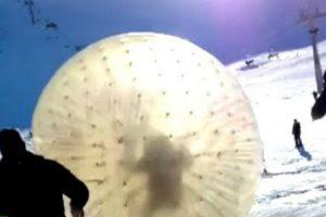 Brincadeira Na Neve Termina De Forma Dramática Com Queda No Abismo 10