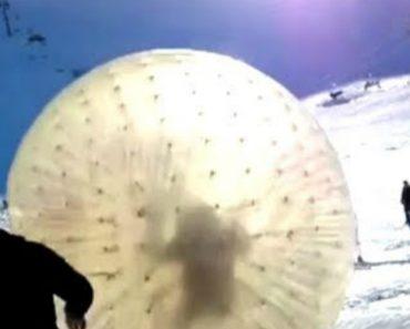 Brincadeira Na Neve Termina De Forma Dramática Com Queda No Abismo 7