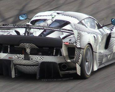 Novo Ferrari FXX K Evoluzione Apanhado Em Testes Extremos No Circuito De Monza 8