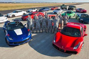 Maior DRAG RACE Do MUNDO Junta 12 Carros De Sonho Numa Base Da Força Aérea 9