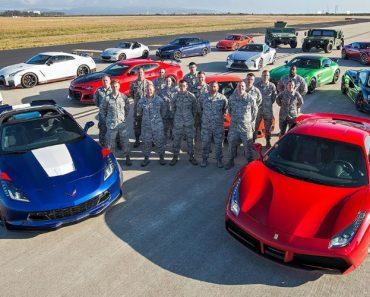 Maior DRAG RACE Do MUNDO Junta 12 Carros De Sonho Numa Base Da Força Aérea 3