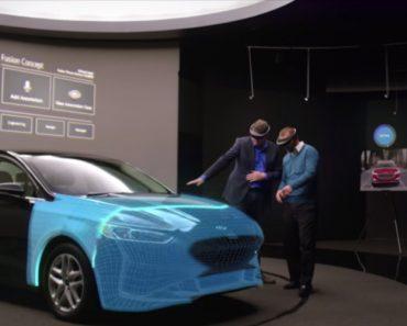Ford Está a Usar Realidade Aumentada Da Microsoft Para Criar Carros 2