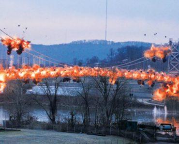 Imagens Impressionantes Da Demolição De Uma Ponte Com 84 Anos 5