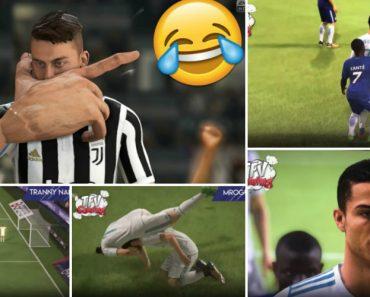 Os Falhanços Mais Engraçados Até Ao Momento No FIFA 18 2