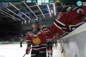 Quando Jogar Hockey No Gelo Nunca Comemore Com Os Adversários 10