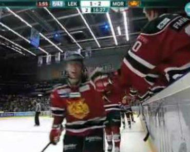 Quando Jogar Hockey No Gelo Nunca Comemore Com Os Adversários 1