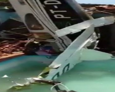 Avioneta Caiu Em Zona Residencial No Brasil e Faz Três Mortos 7