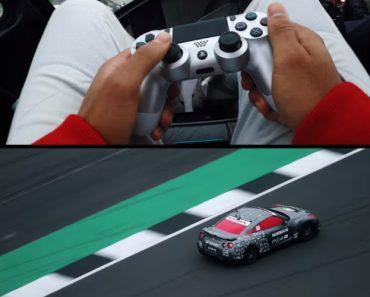 Nissan Modifica GT-R Para Ser Controlado Com o Comando Da PlayStation4 1