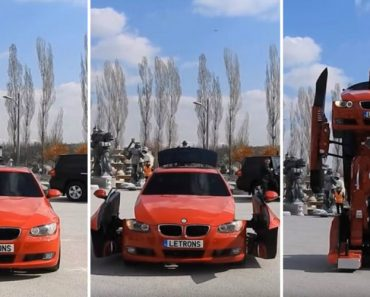 O BMW Transformer Da Vida Real Que Até Pode Ser Conduzido 5