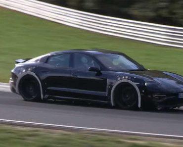 Porsche Já Está a Testar o Novo Rival Da Tesla 5