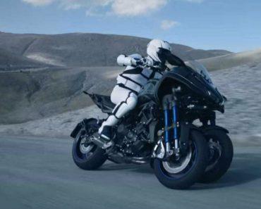 É Assim Que a Yamaha Imagina a Moto Do Futuro 5