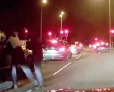 Homens Encapuzados Tentam Assaltar Bentley, Mas Encontram Mãe Resistente 1