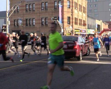 Início De Maratona Fica Marcado Pela Invasão Acidental De Condutora 5