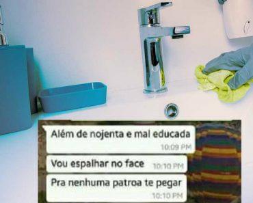 Empregada Doméstica Despedida Por Usar Casa De Banho Dos Patrões 4