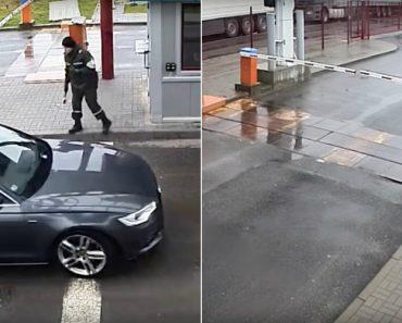 Automobilista Tentou Passar Ilegalmente Pela Fronteira Da Bielorrússia Mas Não Foi Longe 1