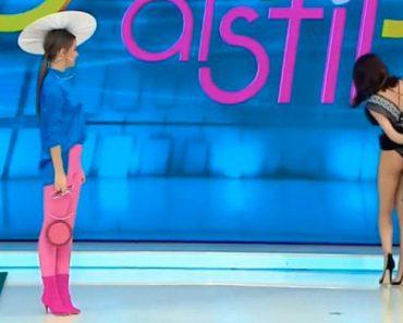 Apresentadora De Tv Levanta Vestido Em Direto Por Pensar Que Tem Uma Aranha Escondida Dentro Dele 11