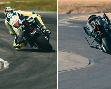 Valentino Rossi Enfrenta a Moto Robô Da Yamaha... Quem Vencerá a Corrida? 2
