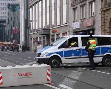 Polícia Alemã Inventa a Barreira Móvel Mais Inovadora De Sempre 7