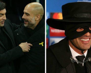 Treinador Paulo Fonseca Aparece Vestido à Zorro Na Sala De Imprensa 6