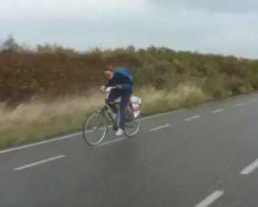 Como é Duro Ser-se Ciclista Quando o Vento Não Está Favorável 2