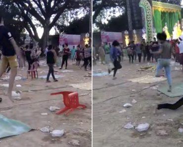 Jovens Fazem a Mais Estranha Dança Durante Um Concerto Na Tailândia 4