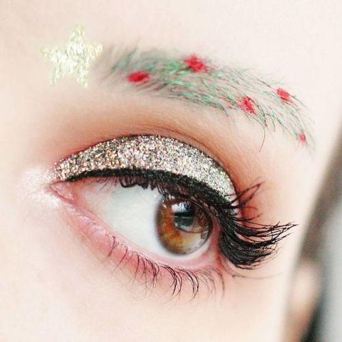 Sobrancelhas Natalícias São a Nova Tendência De Beleza Nas Redes Sociais 3