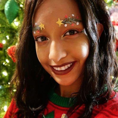 Sobrancelhas Natalícias São a Nova Tendência De Beleza Nas Redes Sociais 6
