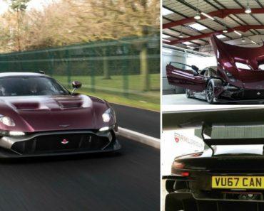 O Único Aston Martin Vulcan Legal Que Pode Circular Na Via Pública 6