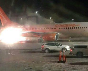 Dois Aviões Chocaram No Aeroporto De Toronto. Eis As Imagens 6