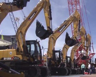 Grandes Equipamentos De Construção Demonstram a Sua Precisão Desempenhando Tarefas Pouco Habituais 1